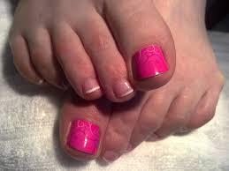 Minx Toes Designs French Minx Toenails Perfect Pedicures Toe Nails Toe