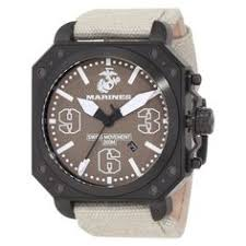 new men s 8mm stainless steel us marine corps usmc military ring mens wrist armor u s marine corps c4 swiss quartz watch brown men s