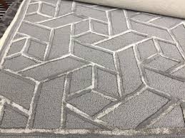 geometric rug pattern. Geometric Silver Rug Pattern E