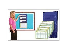 Carson Dellosa Scheduling Pocket Chart Carson Dellosa Weekly Organizer Pocket Chart 158163