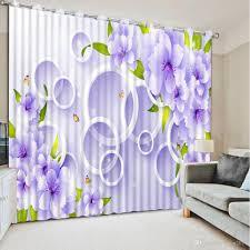 Großhandel Customize Kreis Pflanzen Fenster Vorhang Für Schlafzimmer