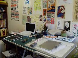 Illustration Studio of Jack Teagle a more realistic approach to what my  office will look like