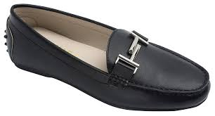 durable modeling KARA Womens Double T Driving Shoes Loafer Flats.