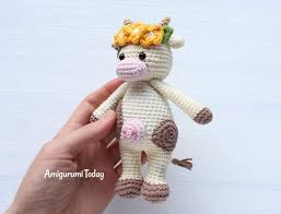 Crochet Cow Pattern New Decorating Design