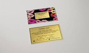 Best Namecard / Business Card Design For Makeup Artist – Leasarra ...
