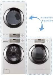 Commercial Washer And Dryer Combo Stack Washer And Dryer Frigidaire Stacked Washerdryer Splendide