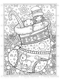 Small Picture 467 best Christmas Colors images on Pinterest Coloring books