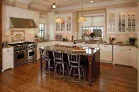Granite Topped Kitchen Island Kitchen Cool Mahogany Varnished Kitchen Island Broen Granite Top