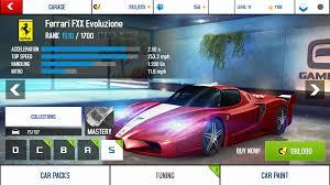 Asphalt 8: Airborne · A8A Ferrari FXX Evoluzione ...  Wiki - Fandom