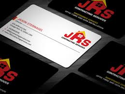 Star Contracting And Design Colorful Modern Business Card Design For Logo Can Just Be