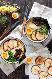 tonkotsu ramen rich delicious pork en broth with fresh noodles soft yolked