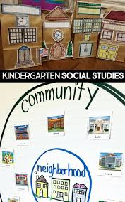 Little Social Studies Thinkers Unit 4 My Community Kindergarten