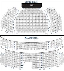 Studio 54 Theatre Seating Chart