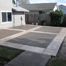 modern concrete patio. Stamped Concrete Patio Designs Pictures With Modern