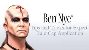 expert bald cap ben nye s tips and tutorial