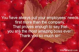Thank You Notes To Boss Awesome Thank You Notes For Boss