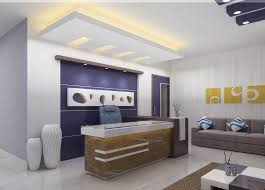 interior decoration of office. Pop Ceiling Designs Home Office Interior Design Decoration Of