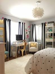 teenage bedroom designs black and white. Black, White And Chic All Over: A Teen Bedroom Makeover Teenage Designs Black