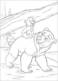 Small Picture Coloring Pages About Bears Coloring Pages