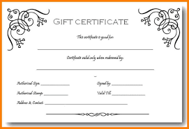 Microsoft Word Gift Certificate Template 7 Gift Certificate Template Word Free Pear Tree Digital
