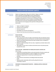 Examples Of Police Resumes 24 Police Officer Resume Templates Address Example Police Officer 23
