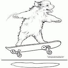 coloring for kids remarkable skateboard page ramp pages boy ice regarding skate coloring page