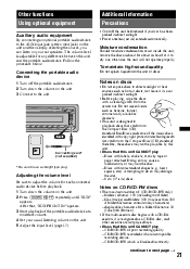 how to wire xplod gt550ui sony cdx gt550ui support Sony Cdx Gt550ui Wiring Diagram operating instructions page 21 sony cdx gt550ui wiring diagram