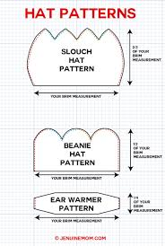 Beanie Hat Pattern Simple Decoration