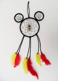 Mickey Mouse Dream Catcher Disney Mickey Mouse inspired dreamcatCher with charm Disney 2