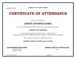 Sample Certification Letter Of Attendance Best Of Temp Good Sample
