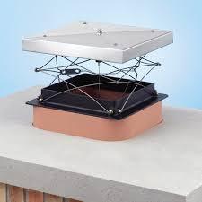 top sealing damper chimney cap
