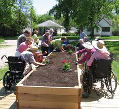Small Picture raised bed gardening for wheelchair accessibility The Arc