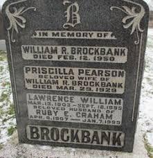 Priscilla Pearson Brockbank (Unknown-1929) - Find A Grave Memorial