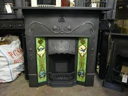 015tc 1384 art nouveau combination fireplace the vienna old fireplaces