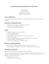 Dental Assistant Objective For Resume Medical Administrative Assistant Resume Sample Administrative 70