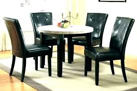 tall dining room table set black round glass great with sets modern tables