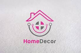 Home Decor Logo Design Extraordinary Decorate Furniture Home Product Logo Templates Creative Market
