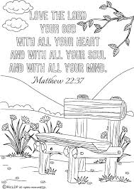 Bible Coloring Pages Story Lent And Catholic Free To On Easter