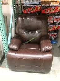costco 1172089 simon li leather recliner