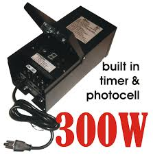 Landscape Lighting Transformer With Timer 300w 12v Outdoor Garden Low Voltage Yard Landscape Lighting Transformer Led