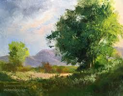 pleasant idea oil painting landscape karen winters california impressionist paintings landscapes