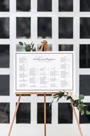 Caroline Classic Wedding Seating Chart Dearlc
