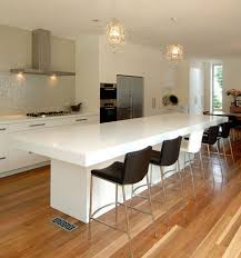 Contemporary Kitchen Counter And Breakfast Bar Design By Hanex