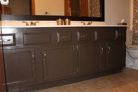 painted bathroom cabinets spray painted bathroom cabinets painting bathroom cabinets chocolate brown