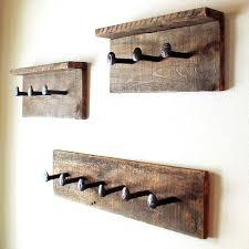 wall coat hanger rustic coat rack wall hanger with 6 railroad by wall coat hanger ikea