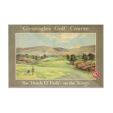 gleneagles golf course vintage poster artist anonymous uk c 1928 12x8 on golf wall art uk with gleneagles golf course vintage poster artist anonymous uk c 1928
