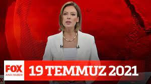 Siyasette seçim tartışması... 19 Temmuz 2021 FOX Ana Haber - YouTube