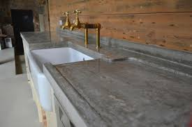 Poured Concrete Kitchen Floor Concrete Is Tactile And Practical In The Home Arkitexture
