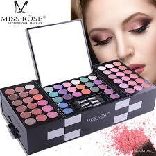 miss rose eyeshadow blush eyebrow powder makeup set box makeup artist special makeup whole makeup gift set makeup sets uk from blackrose