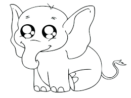 Cute Jungle Animal Coloring Pages Printable Le Animal Coloring Pages ...